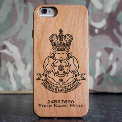 Queens Lancashire Regiment Phone Case