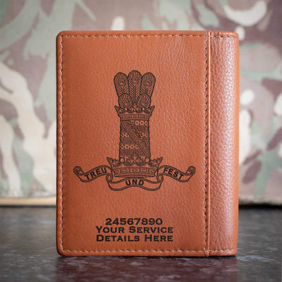 11th Hussars (PAO) Credit Card Wallet