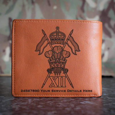 12th Royal Lancers Leather Wallet