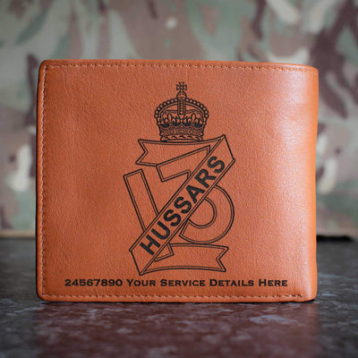 13th Hussars Leather Wallet