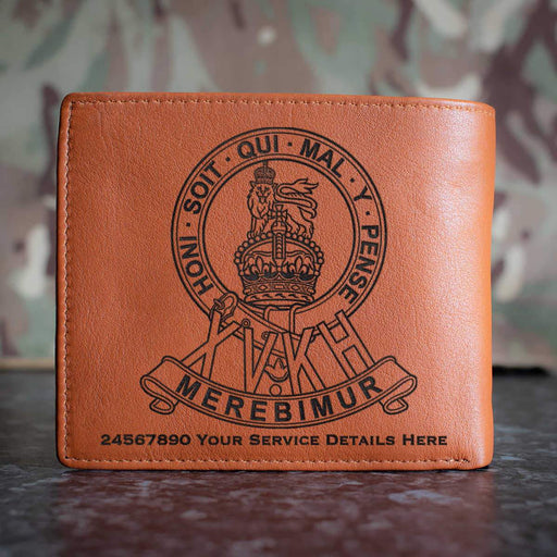15th Kings Hussars Leather Wallet
