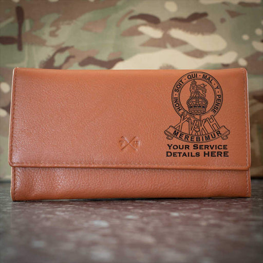 15th Kings Hussars Leather Purse