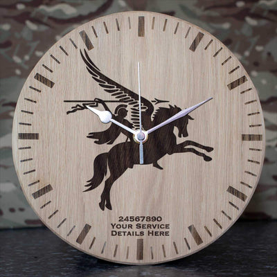 16 Air Assault Brigade Pegasus Oak Clock