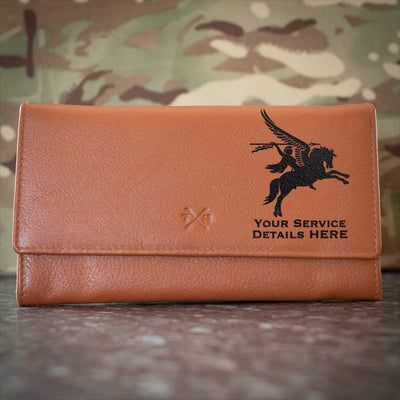 16 Air Assault Brigade Pegasus Leather Purse