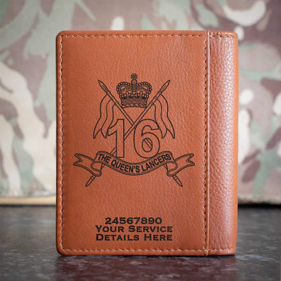 16th 5th The Queens Lancers Credit Card Wallet