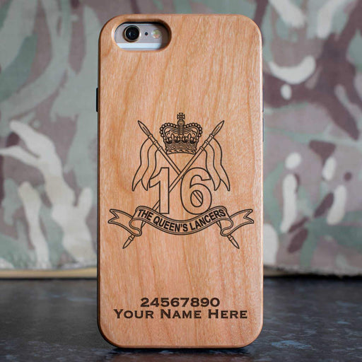 16th 5th The Queens Lancers Phone Case