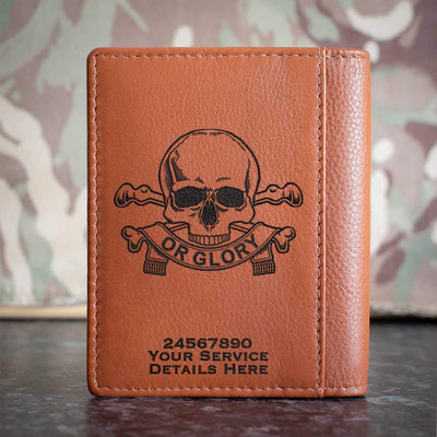 17th 21st Lancers Credit Card Wallet