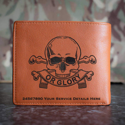 17th 21st Lancers Leather Wallet