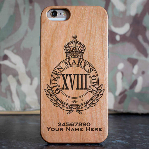 18th Royal Hussars (QMO) Phone Case