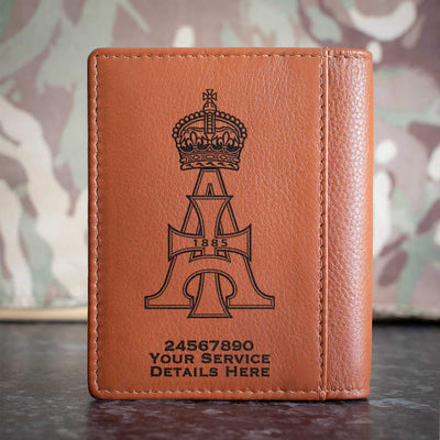 19th Royal Hussars Credit Card Wallet