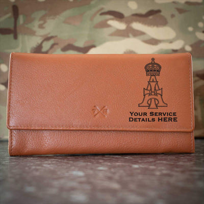 19th Royal Hussars Leather Purse