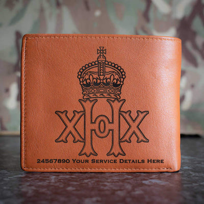 20th Hussars Leather Wallet