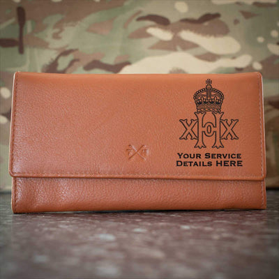 20th Hussars Leather Purse