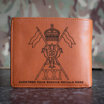 21st Lancers Leather Wallet