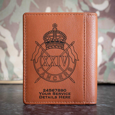 24th Lancers Credit Card Wallet