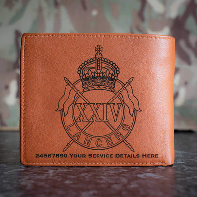 24th Lancers Leather Wallet