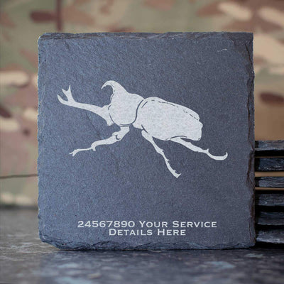 26 Engineer Regiment Slate Coaster