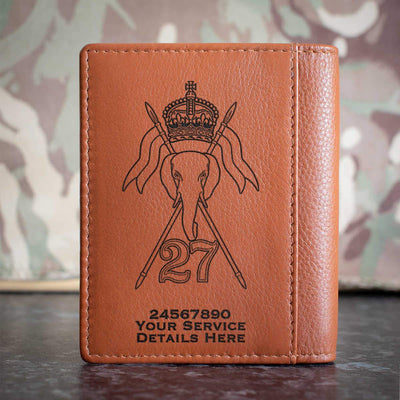 27th Lancers Credit Card Wallet