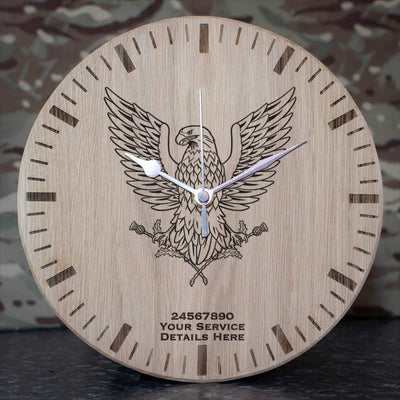 39 Engineer Regiment Oak Clock