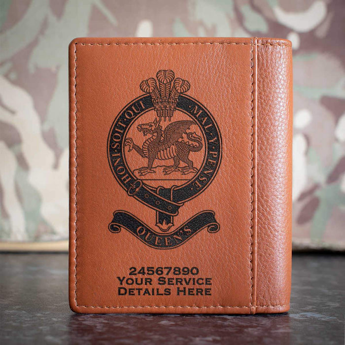 Queens Regiment Credit Card Wallet