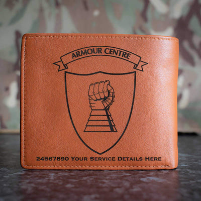 Armour Centre Leather Wallet