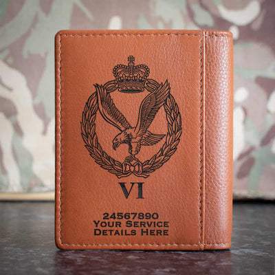 Army Air Corps 6 Regt Credit Card Wallet