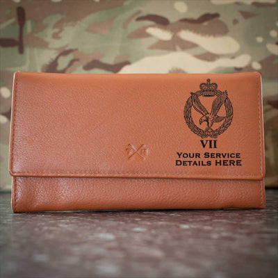 Army Air Corps 7 Regt Leather Purse