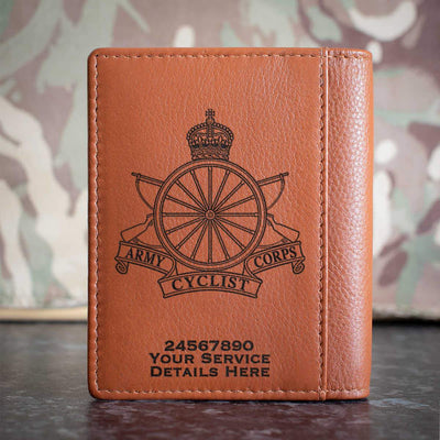 Army Cyclist Corps Credit Card Wallet