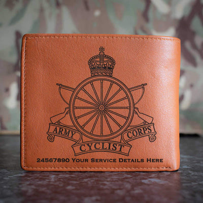 Army Cyclist Corps Leather Wallet