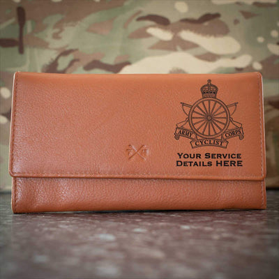 Army Cyclist Corps Leather Purse