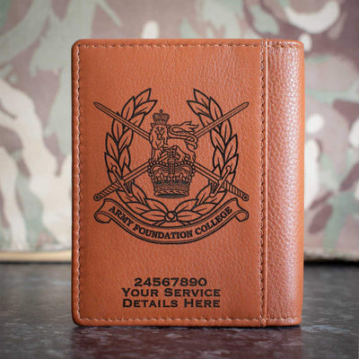 Army Foundation College Credit Card Wallet