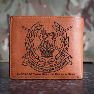 Army Foundation College Leather Wallet