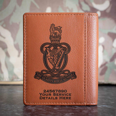 Queens Royal Hussars Credit Card Wallet