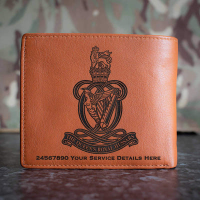 Queens Royal Hussars Leather Wallet