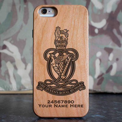 Queens Royal Hussars Phone Case