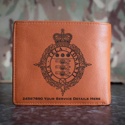 Army Staff Master General of Ordnance copy Leather Wallet