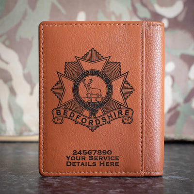 Bedfordshire Regiment Credit Card Wallet