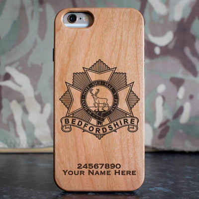 Bedfordshire Regiment Phone Case