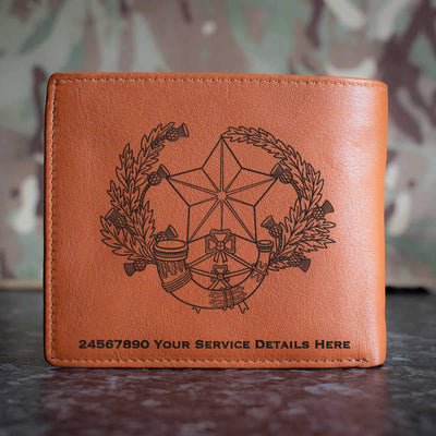 Cameronians (Scottish Rifles) Leather Wallet