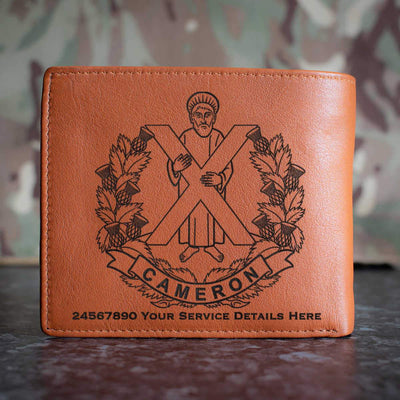 Camerons Leather Wallet