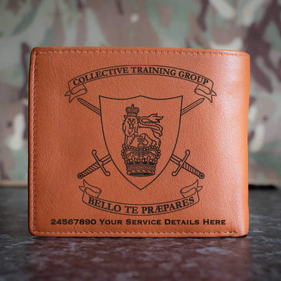 Collective Training Group Leather Wallet
