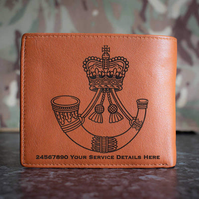 Rifles Leather Wallet