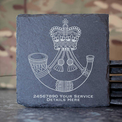 Rifles Slate Coaster