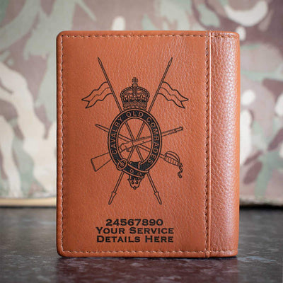 Combined Cavalry Old Comrades Association Credit Card Wallet