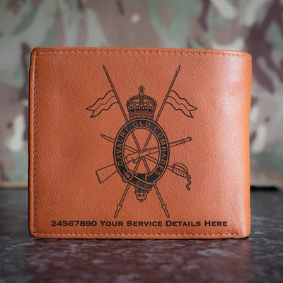 Combined Cavalry Old Comrades Association Leather Wallet