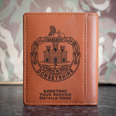 Dorset Regiment Credit Card Wallet