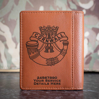 Duke of Cornwalls Light Infantry Credit Card Wallet
