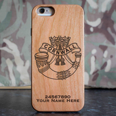 Duke of Cornwalls Light Infantry Phone Case