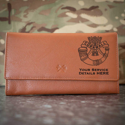 Duke of Cornwalls Light Infantry Leather Purse