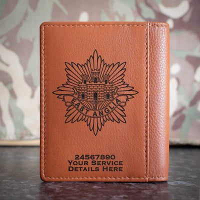 East Anglia Regiment Credit Card Wallet